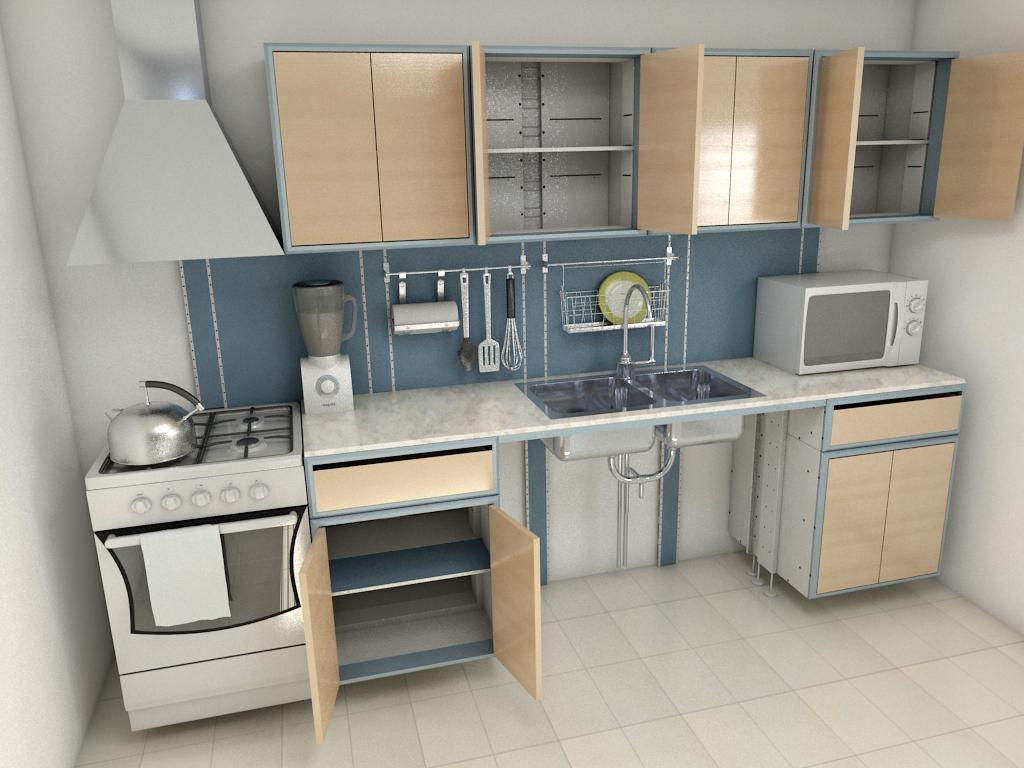 Dise o y fabricaci n de mobiliario para el hogar colombia - Mobiliario cocina industrial ...